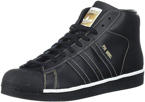 93630e3800ab4 Amazon.com | adidas Originals Men's PRO Model Running Shoe, Black ...