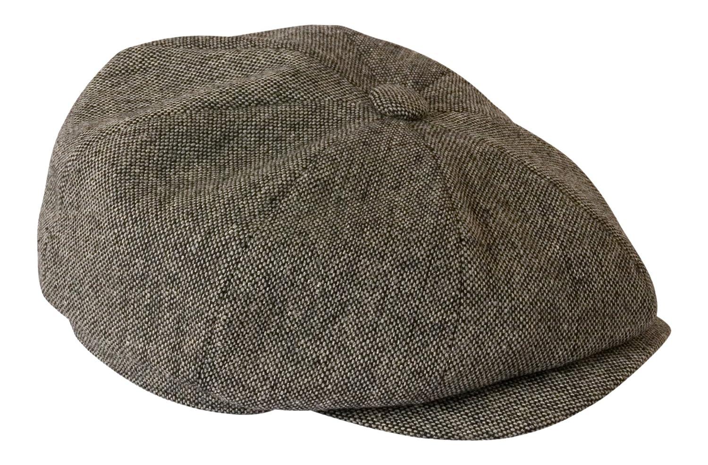 grigio antracite colore berretto in tessuto leggero tweed Shelby Gamble /& Gunn