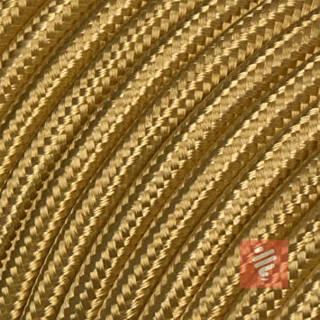 Textilkabel 3-adrig Lampenkabel 3x0,75mm² schwarz Top EU Design Qualität 50m