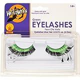 Rubies Green Eyelashes and Adhesive
