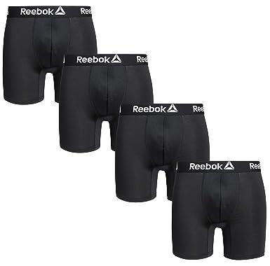 Reebok Herren 4er Pack Performance Boxershorts mit