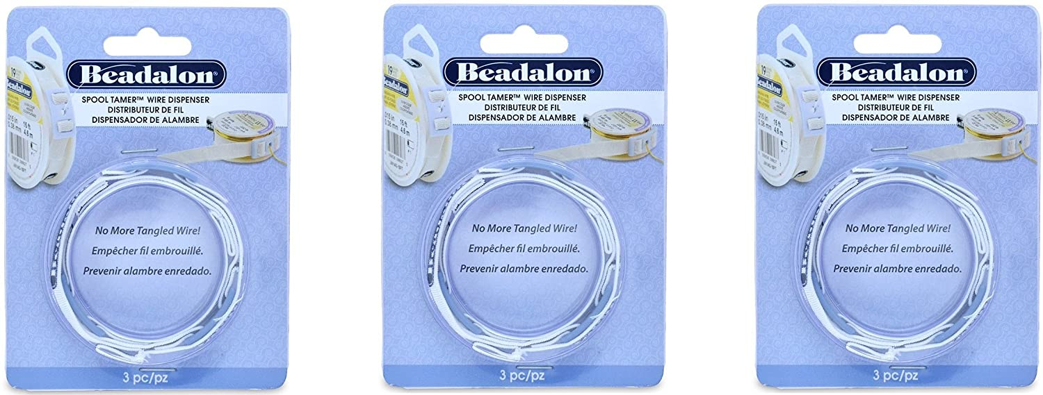 Amazon.com: Beadalon 3-Piece Spool Tamer Set: Arts, Crafts & Sewing