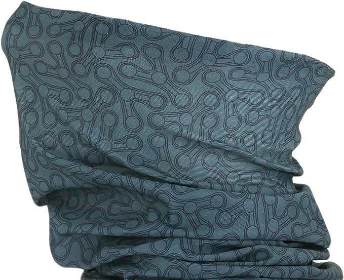 Dark Blue Oblique-Unique Damen//Herren Mikrofaser Multifunktionstuch K-150