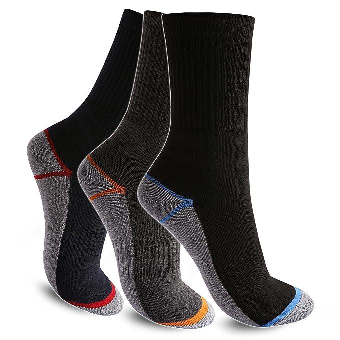1 hasta 12 pares de calcetines térmicos Invierno Calcetines Calcetines Térmicos De Esquí De Calcetines De Trabajo 1 Paar Mehrfarbig 43/46: Amazon.es: Ropa y ...