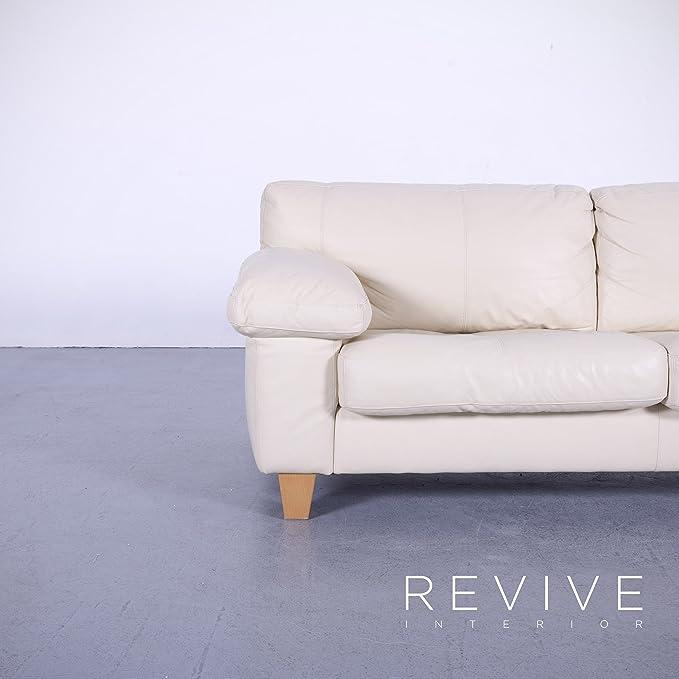 Amazon.com: Machalke Crack Funda Leder sofá Creme Weiß ...