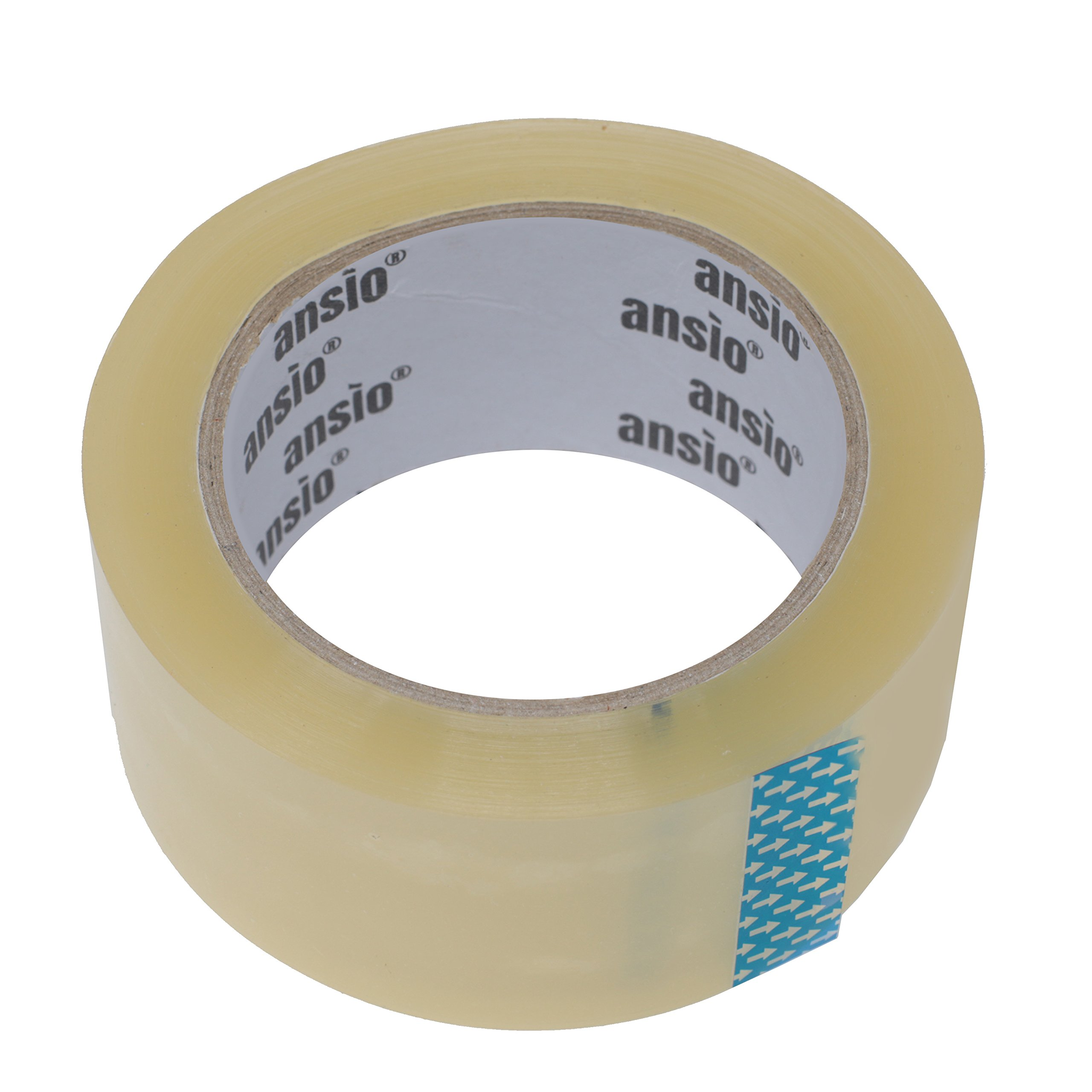 Packing Tape, Shipping Tape, Moving Supplies, Packing Supplies, Packaging Tape, Clear Packing Tape, Box Tape - 2 inches x 66 Yards (50mm x 60m) - 6 Roll Pack by ARVO (Image #2)