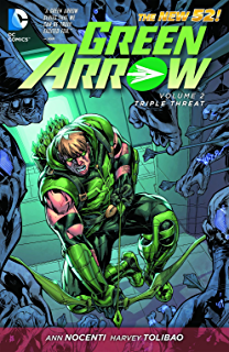 Green arrow vol 1 the midas touch the new 52 ebook jt krul green arrow vol 2 triple threat the new 52 fandeluxe Images