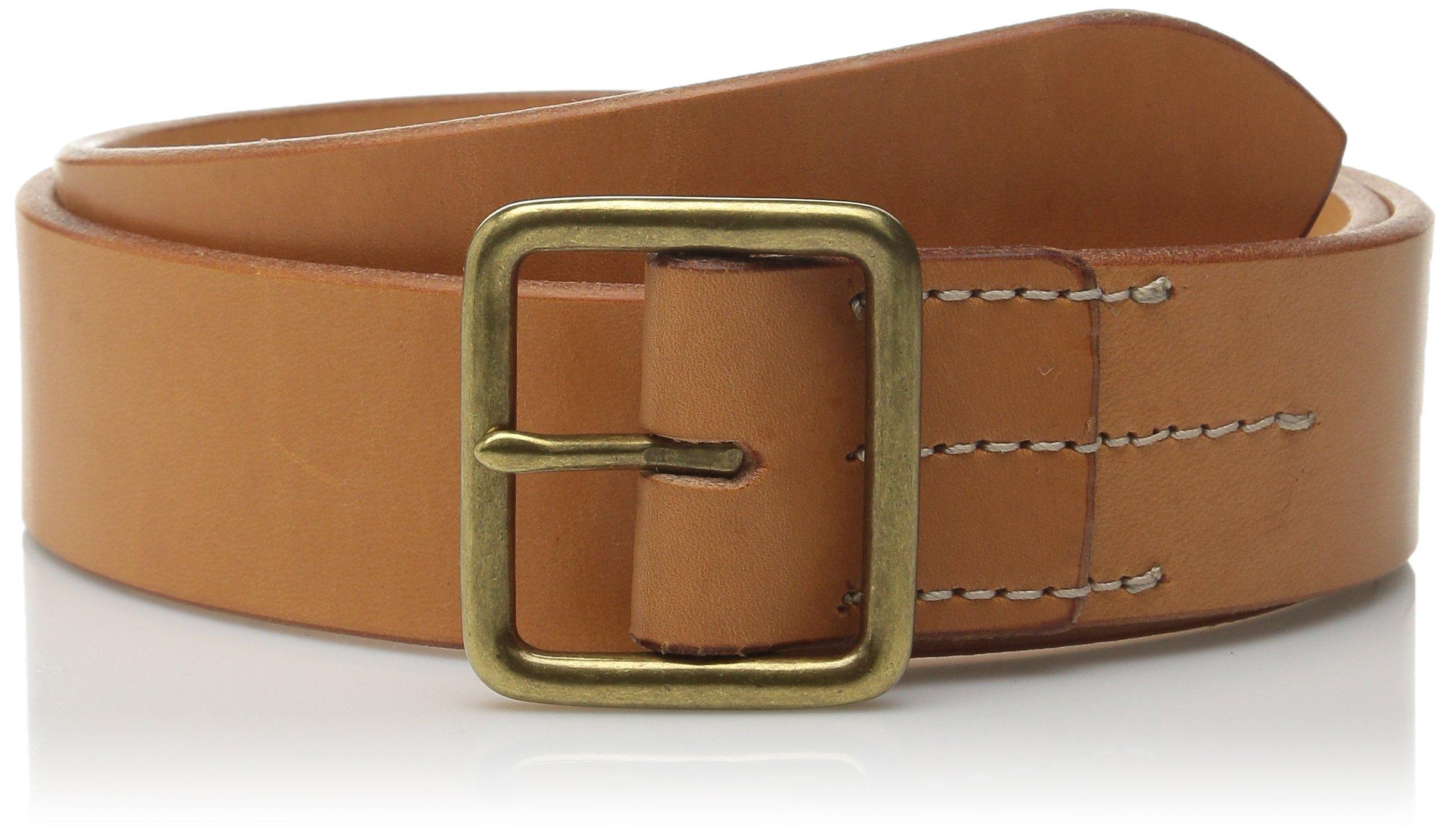 Red Wing Heritage Leather Belt, Tan Veg Tan, 38