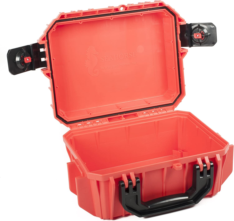 With Foam. Seahorse Orange SE430 Case