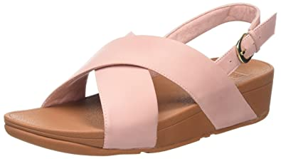 010661fa76ef Fitflop Women s Lulu Cross Back-Strap Sandals - Leather  Amazon.co ...