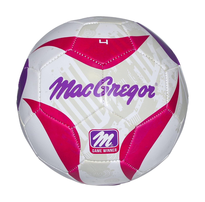 MacGregor - Juego Ganador # 4 balón de fútbol Rosa/Morado: Amazon ...