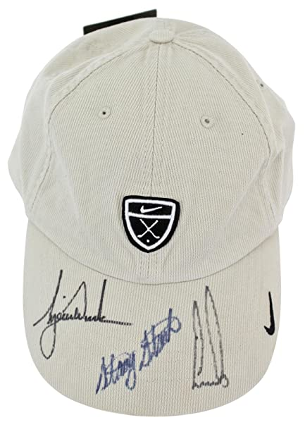 e31d08af Tiger Woods, Ernie Els +1 Signed Nike Golf Hat #S02817 - PSA/DNA Certified  - Autographed Golf Hats and Visors at Amazon's Sports Collectibles Store