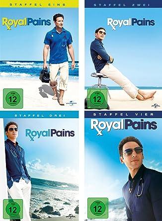 Royal Pains - Staffel 1-4 im Set - Deutsche Originalware [17 DVDs]