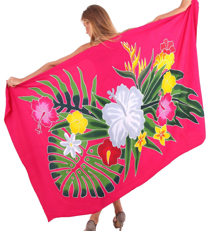 La Leela SWIMWEAR レディース B010T736BS Fuchsia Pink