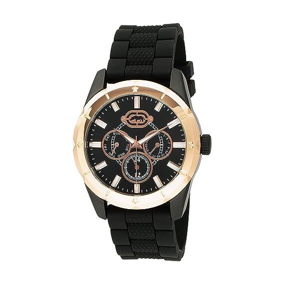 Marc Ecko E10565G1 - Reloj de Pulsera Hombre, Acero Inoxidable, Color Negro: Marc Ecko: Amazon.es: Relojes