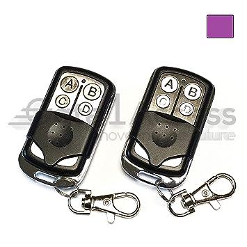 Chamberlain Craftsman LiftMaster Purple Learn Button Mini Remote Garage