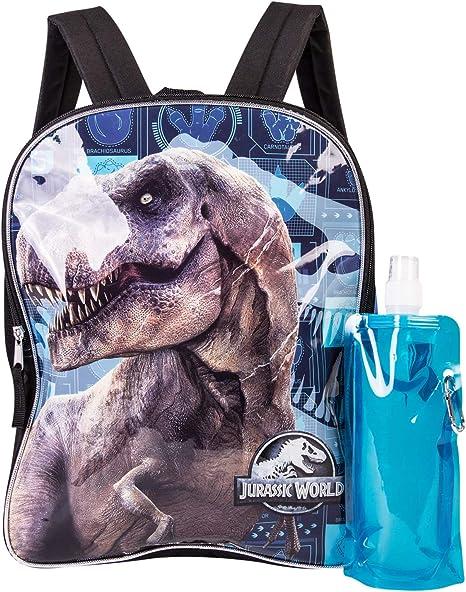 2018 Boys Girl Jurassic World School Bag Dinosaur Park Backpack Shoulder Bag
