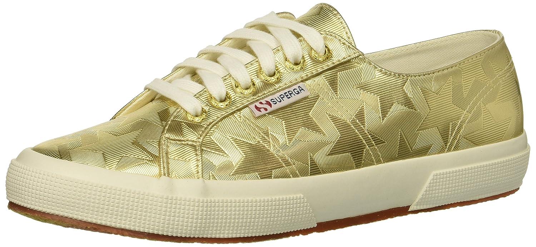 Superga Women's 2750 Starchromw Sneaker B078K8MYT6 37.5 M US|Gold