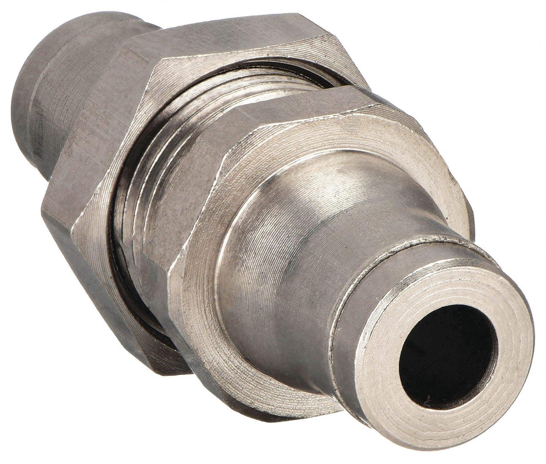 12mm x 24mm Tube Nickel Brass Bulkhead Union