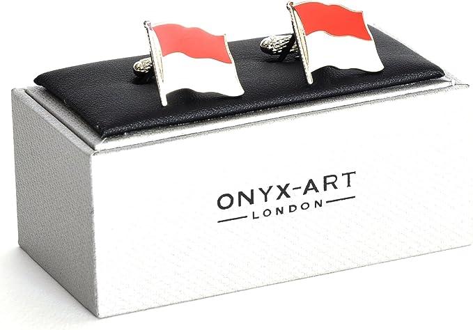 Onyx Art Cufflinks Ace