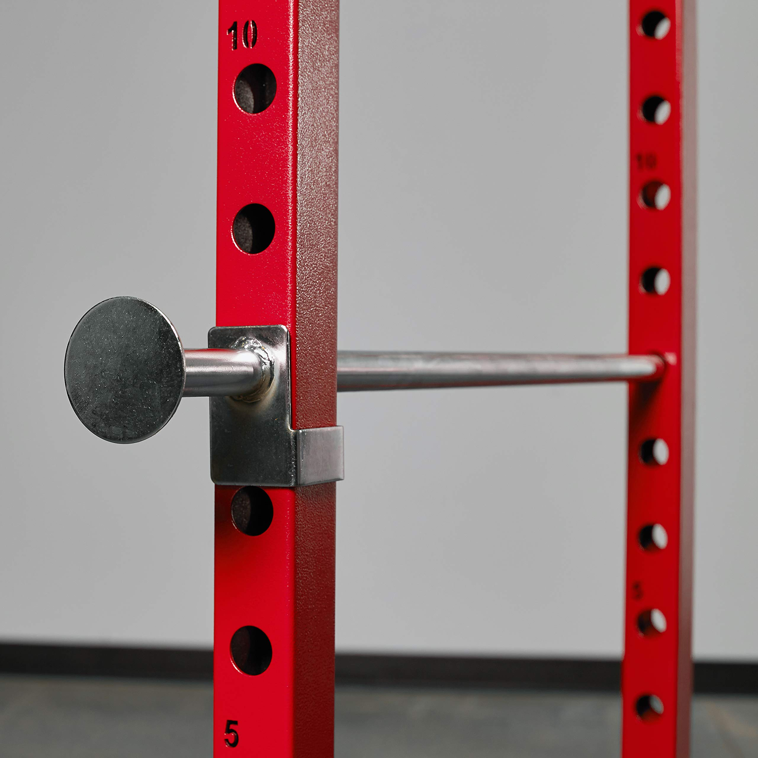 Rep PR-1100 Power Rack - 1,000 lbs Rated Lifting Cage for Weight Training (Red Power Rack, No Bench) by Rep Fitness (Image #3)