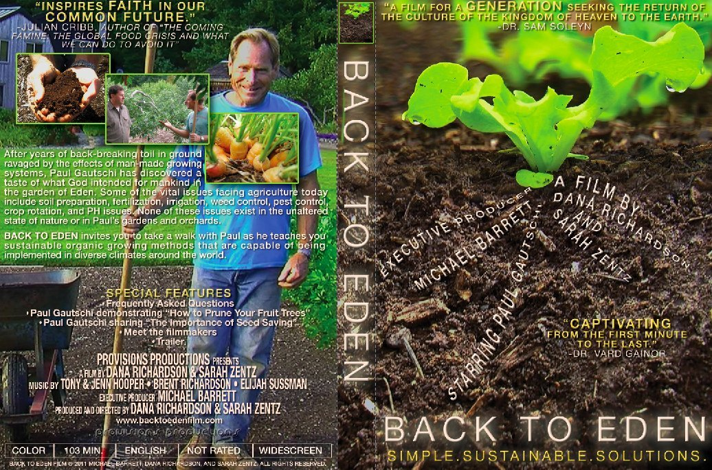 Amazon.com: Back To Eden Film - Simple. Sustainable. Solutions ...