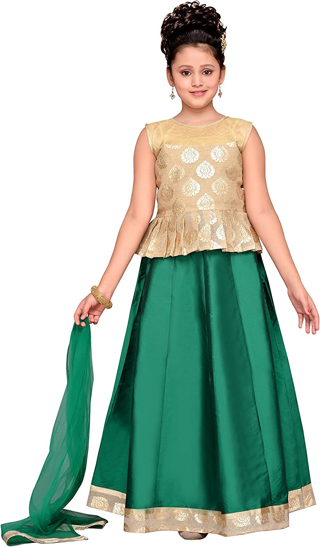 Adiva Girls Indian Party Wear Lehenga Choli for Kids