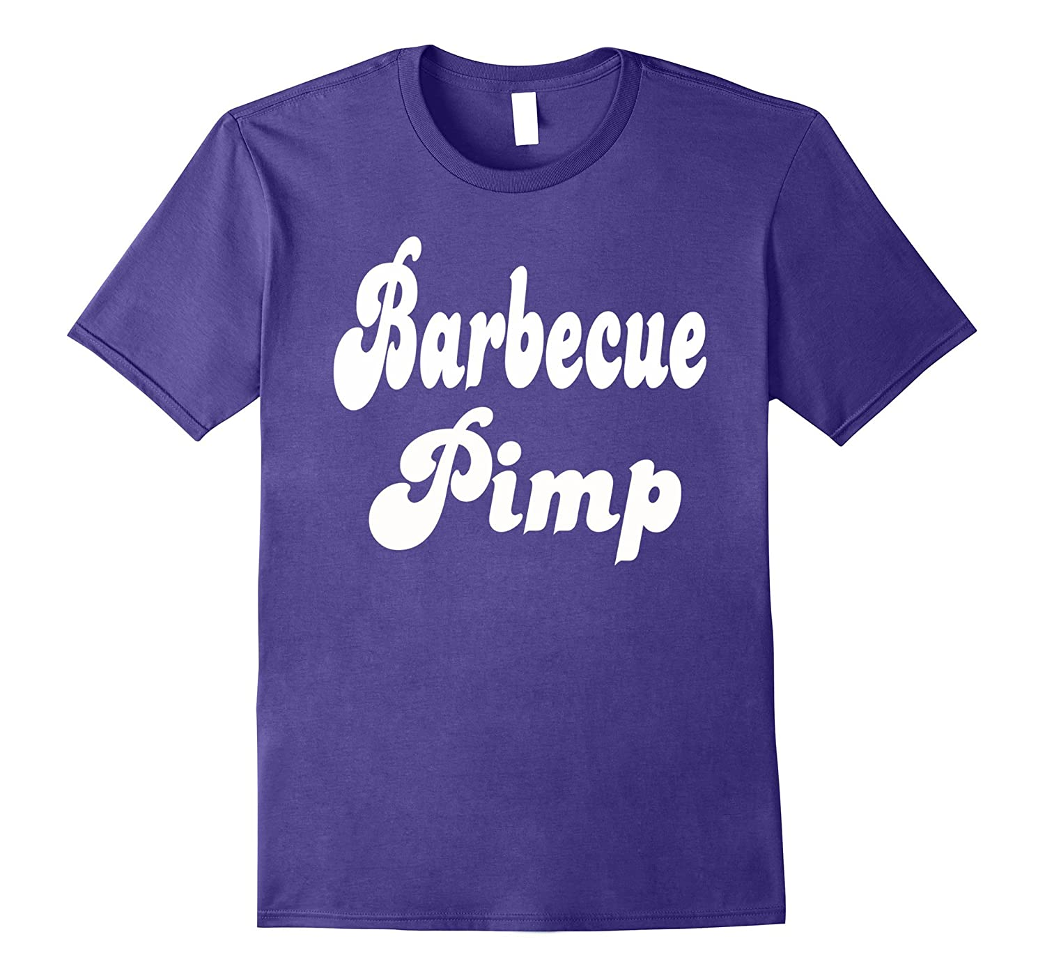 Barbeque Pimp Shirt BBQ Smoking Grilling Humor Tee-PL