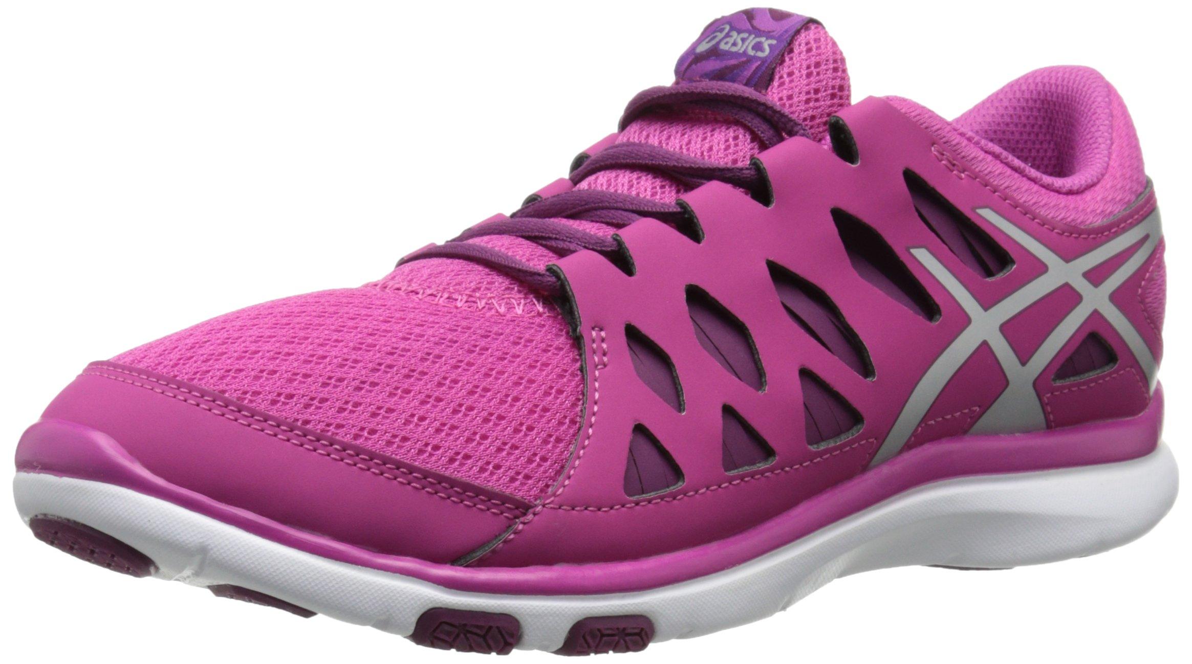 ASICS Women's GEL Fit Tempo 2 Fitness Shoe, Berry/Silver/Plum, 6.5 M US