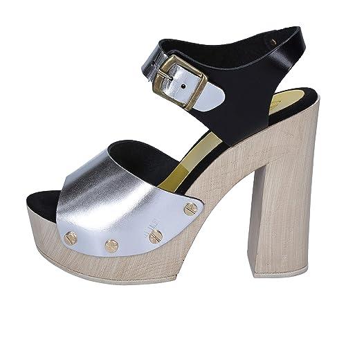 esZapatos Cuero Mujer Brand Sandalias Y Suky PlataAmazon kPuXZi