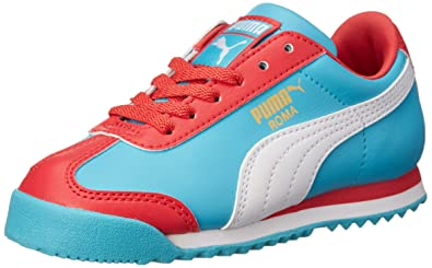 online store 4cd49 b5405 Amazon.com   PUMA Roma Basic Jr Sneaker (Little Kid/Big Kid)   Sneakers