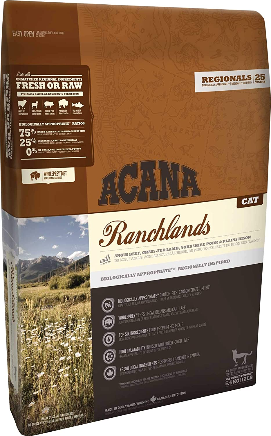 ACANA Ranchlands Cat 0.340 Kg 340 g