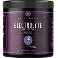 Electrolyte Powder, Grape Hydration Supplement: 90 Servings, Carb, Calorie & Sugar Free, Delicious Keto Replenishment…