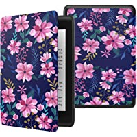 MoKo Case Fits Kindle Paperwhite (10th Generation, 2018 Release), Thinnest Lightest Smart Shell Cover with Auto Wake…