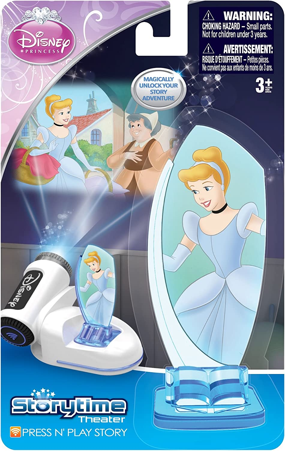 Amazon Com Tech 4 Kids Story Time Theater Press Play Cinderella Toy Toys Games