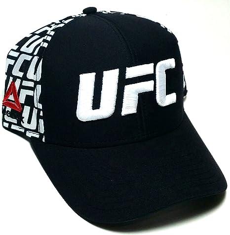 Reebok UFC RBK MMA - Gorra Ajustable con Logotipo, Color Negro y ...