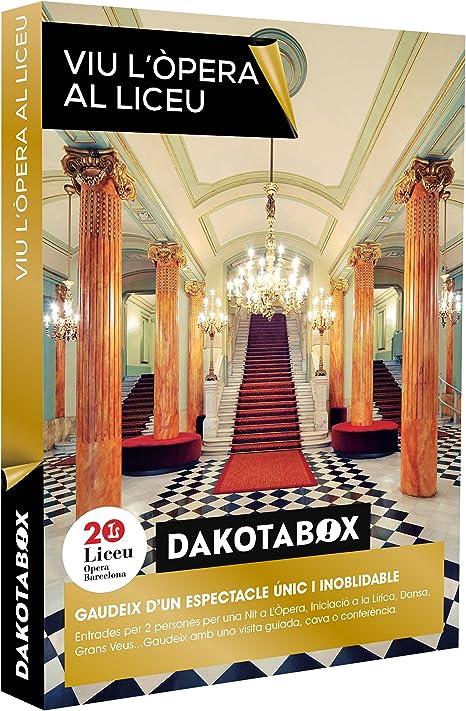 DAKOTABOX - Caja Regalo - Viu Lòpera al Liceu - Entrades per a ...