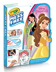 Crayola Color Wonder Mini Mess-Free Color On-The-Go, Disney Princess