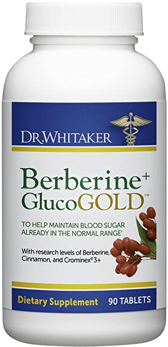 Berberine GlucoGold by Dr. Whitaker
