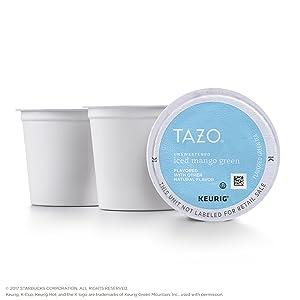 Tazo Unsweetened Iced Mango Green Tea K-Cup