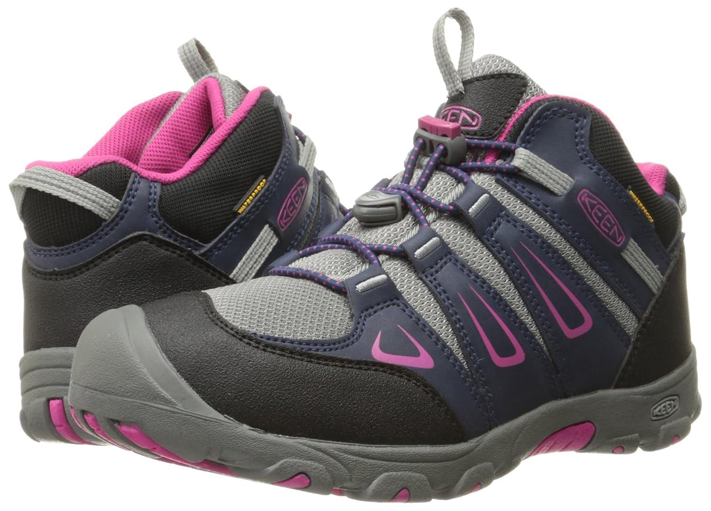 8002d1766a9 KEEN Kids' Oakridge Mid Wp High Rise Hiking Boots: Amazon.co.uk: Shoes &  Bags