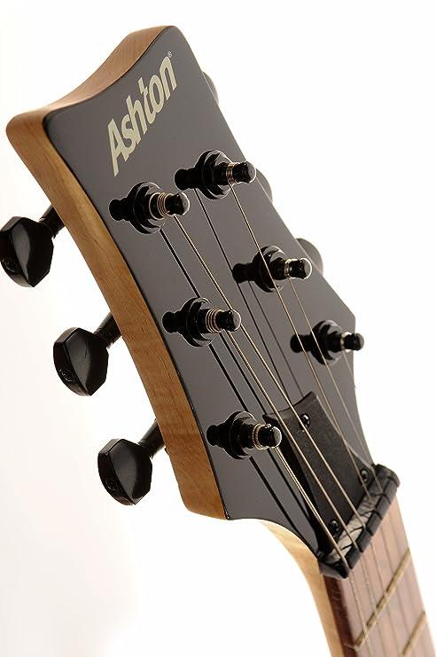 ASHTON JOEYBACKSTAGERD - Guitarra eléctrica, color rojo: Amazon.es: Instrumentos musicales