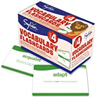 Fourth Grade Vocabulary Flashcards: 240 Flashcards for Improving Vocabulary Based on Sylvan's Proven Techniques for…