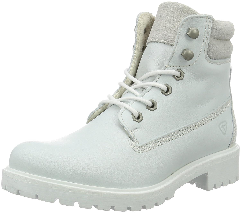 Weiß (Weiß Uni 120) Tamaris Damen 25242 Stiefel