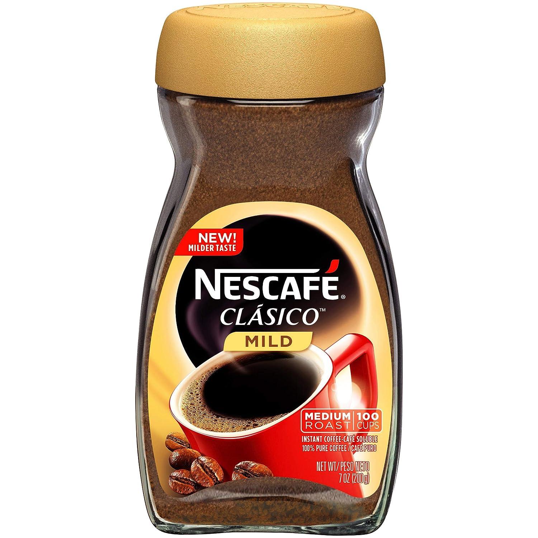 Nescafe Clasico - Cafetera instantánea, 6 unidades: Amazon ...