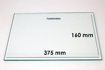 alle Ma/ße lieferbar Klarglas 4 mm stark 490 mm x 490 mm Glasplatte//Glasregal