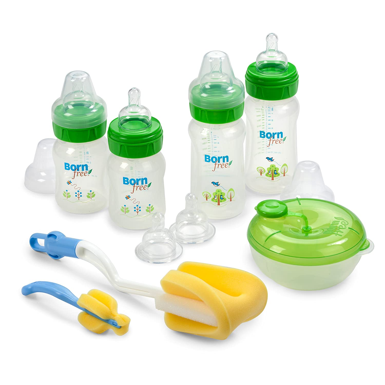 Born Free Decorated Plastic Bottle Gift Set by BornFree   B007QWOE70