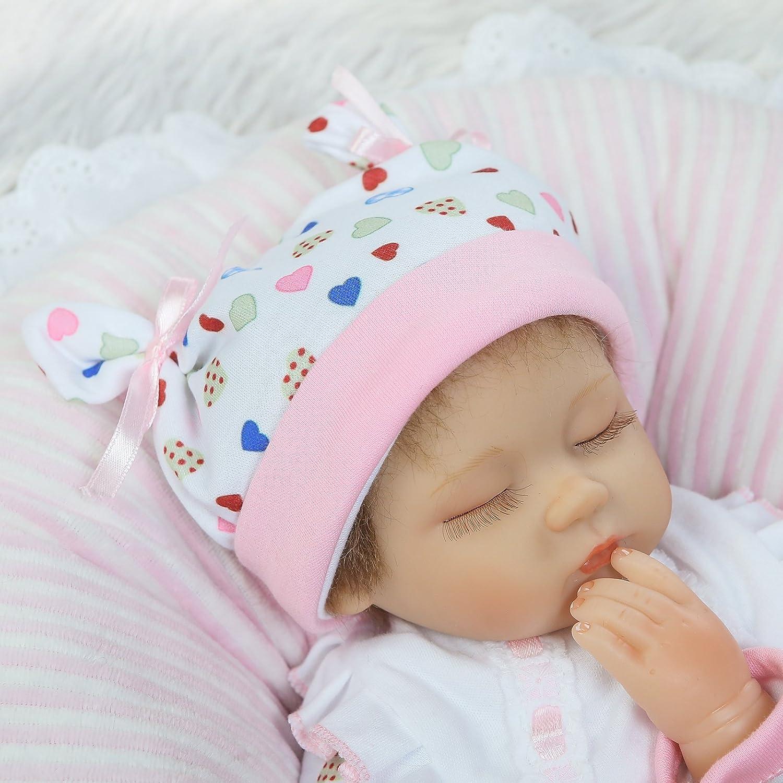 NPK Collection Muñeca bebé recién nacido 55 cm 22 pulgadas, muñeca realista bebé recién nacido de juguete regalo para niñas princesa juguetes para niños regalo de cumpleaños regalo de navidad