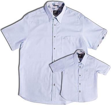 Caledon Club Clothing - Camisa Oxford para padre e hijo, 100% algodón, ajuste regular, paquete Azul azul XX-Large: Amazon.es: Ropa y accesorios