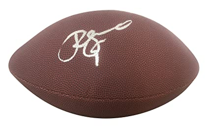 862dc5d18 San Francisco 49ers Robbie Gould Autographed Hand Signed NFL Wilson Football  with Proof Photo of Signing